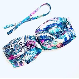 VS Paisley Twisted Halter / Strapless Bandeau